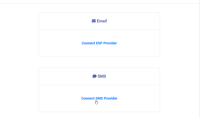 Connect SMS Provider