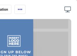 Desktop Promotion Icon within templates
