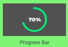 Select progress bar