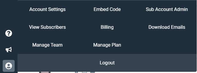 access sub account admin
