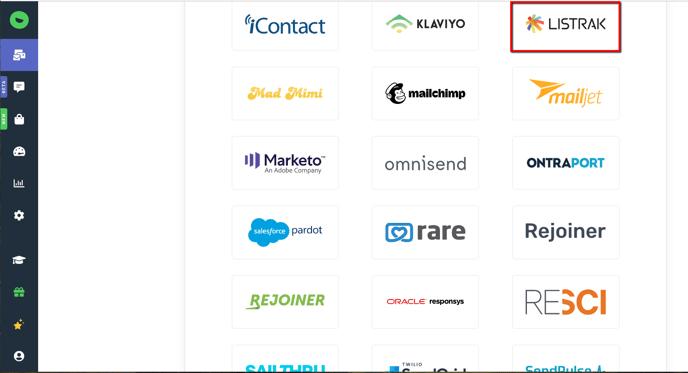 Integrations Page: Targeting Listrak