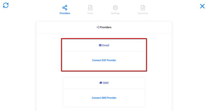 Providers: Connect ESP Provider