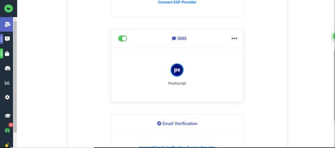 postscript connected confirmation