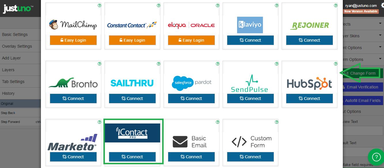 select iContact Pro