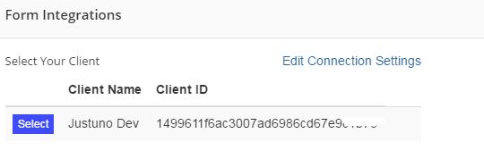 select client