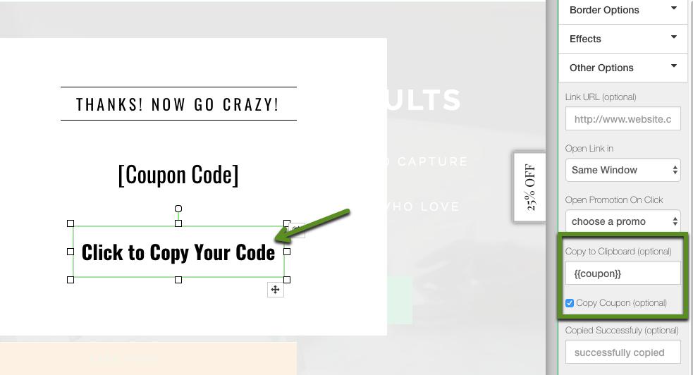 Config Copy Code