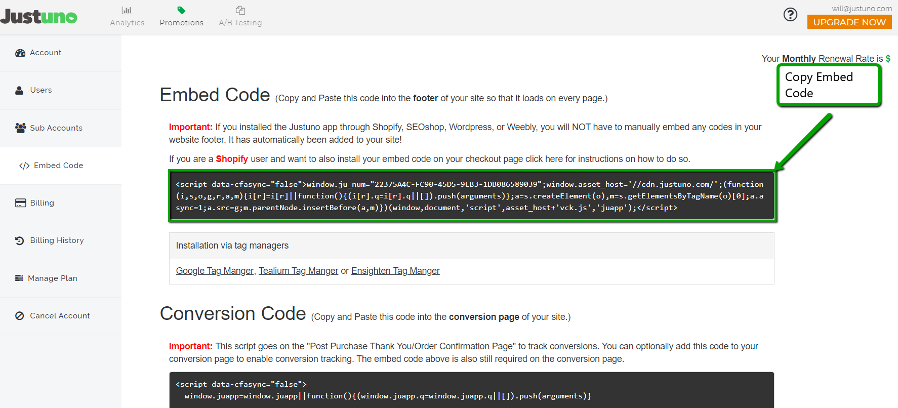 step2_embed_code